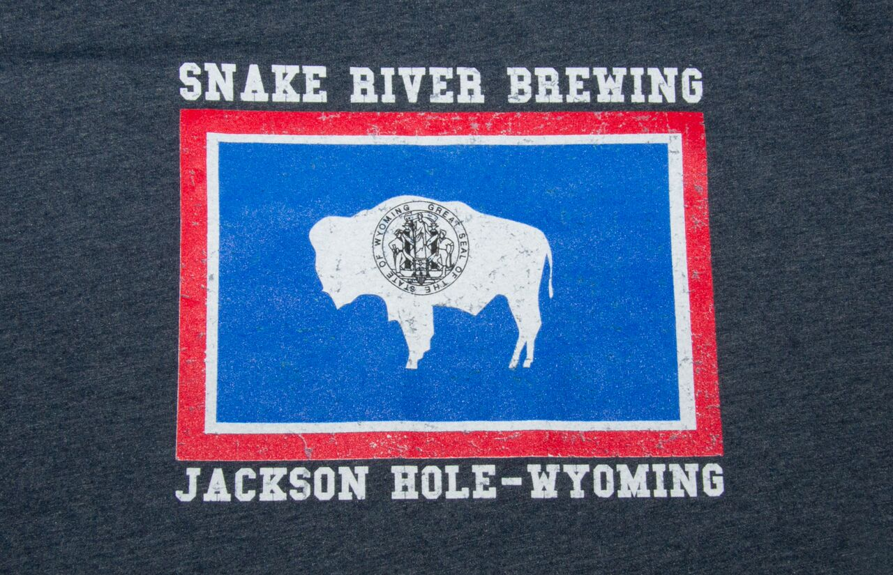 Wyoming Flag Shirt
